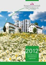 Geschäftsbericht Jahresabschluss Lagebericht
