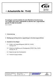 Grundlagen der öA - Bayerischer Jugendring