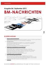 BM-Nachrichten Nr. 86 - Bundesverband Mediation eV