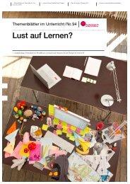 Themenblätter im Unterricht Nr. 94 - Bundeszentrale für politische ...