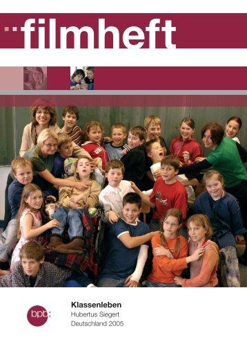 Klassenleben - Bundeszentrale für politische Bildung
