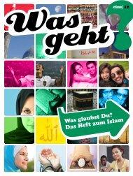 Das Heft zum Islam - Bundeszentrale für politische Bildung
