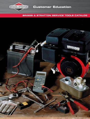 BRIGGS & STRATTON SERVICE TOOLS CATALOG