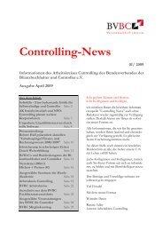Controlling-News - Bundesverband der Bilanzbuchhalter und ...