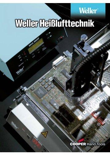 Prospekt WELLER Heißlufttechnik - C.M. Dobrick GmbH