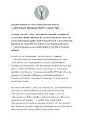 PM DGIM Vorsitz Lehnert F - Deutsche Gesellschaft für Innere ...