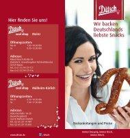 Wir backen Deutschlands liebste Snacks - Ditsch