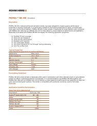 Primal SB-200 -- Technical Data Sheet - The Dow Chemical Company