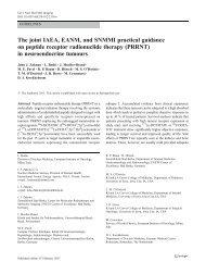 PRRNT - European Association of Nuclear Medicine
