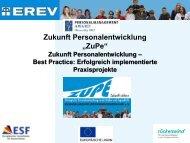 Zukunft Personalentwicklung – Best Practice: Erfolgreich ... - Erev