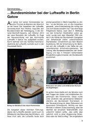 …Bundesminister bei der Luftwaffe in Berlin Gatow - Gemeinschaft ...