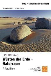 Wüsten der Erde – Naturraum - FWU