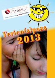 Ferien(s)pass 2013 - Großheubach