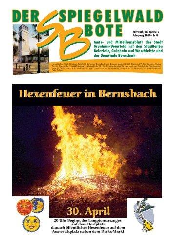 Spiegelwaldbote - Stadt Grünhain-Beierfeld