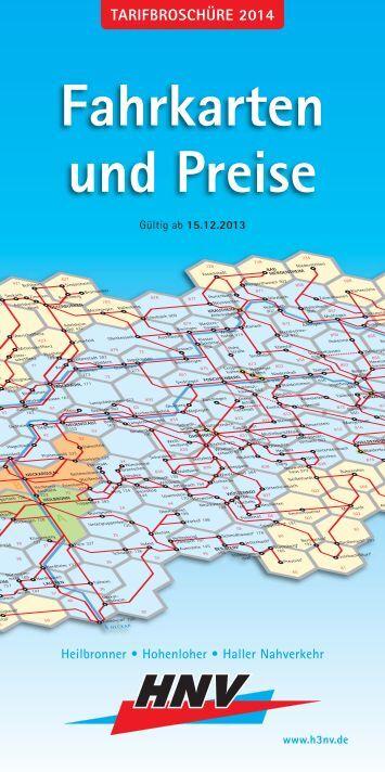 Die aktuelle Tarifbroschüre zum Download (PDF/853 KB) - HNV ...