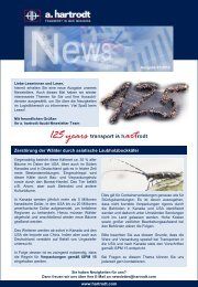 Newsletter 01/2012 - a. hartrodt
