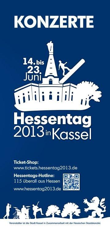 Konzerte auf einen Blick - Hessen