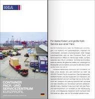 CONTAINER PACK- UND SERVICEZENTRUM KURZPROFIL - HHLA