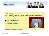 Web 2.0, Social Network als Vertriebsinstrument für die ...