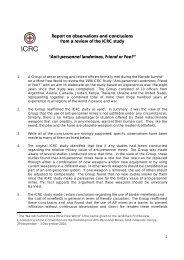 Anti-personnel landmines, Friend or Foe? - ICRC