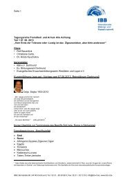 Kurzeinführung (aus ppt –Vortrag vom 07.06.2013, Reinoldinum ...