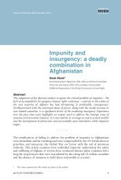 Impunity and insurgency: a deadly combination in Afghanistan - ICRC