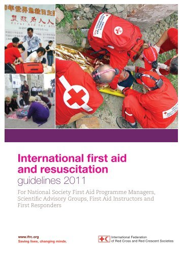 IFRC International First Aid and Resuscitation Guidelines 2011