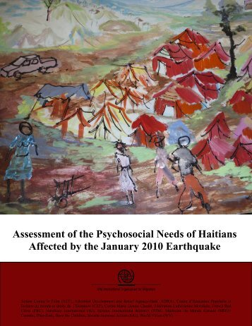 IOM - Assessment on the Psychosocial Needs of Haitians Affected ...