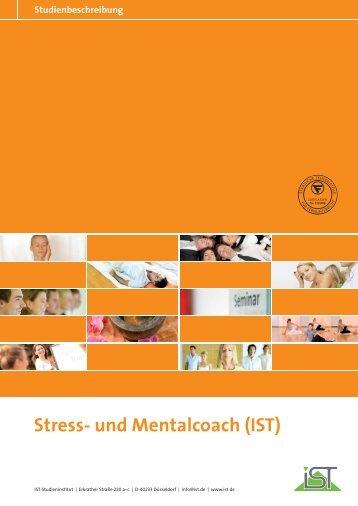 Stress- und Mentalcoach (IST) - IST-Studieninstitut