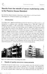 Results from the retrofit of seven multi-family units to the Passive ...