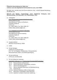 Ausschreibungstext (88.4 KB) - Jena