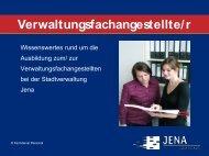 Verwaltungsfachangestellte/r - Jena