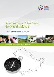 Broschüre - Kommunen auf dem Weg der Nachhaltigkeit - Jena