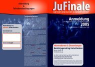 Anmeldung 2005 - JFF