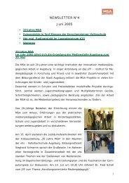 Newsletter No4 - Juni 2005 (PDF) - JFF
