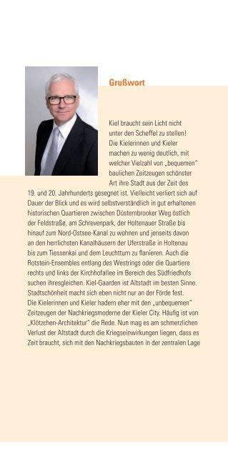 TAG DES OFFENEN DENKMALS - Landeshauptstadt Kiel