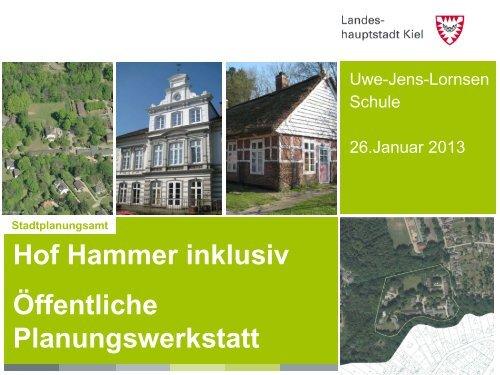 Stadtplanungsamt - Landeshauptstadt Kiel