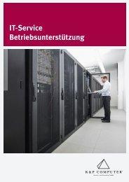 Betriebsunterstützung - K&P Computer Service- und Vertriebs-GmbH