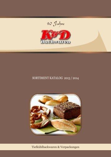 KATALOG WEB 2013.pdf - Tiefkühlbackwaren TK Backwaren K&D ...