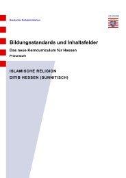 DİTİB Kerncurriculum Islamischer Religionsunterricht - Hessisches ...
