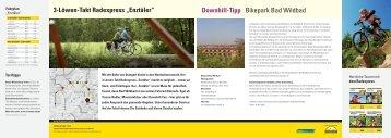 "3-Löwen-Takt Radexpress ""enztäler"" Downhill-Tipp Bikepark Bad ..."