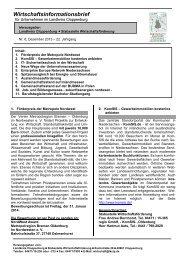 Wirtschaftsinformationsbrief 2013 / 06 - Landkreis Cloppenburg