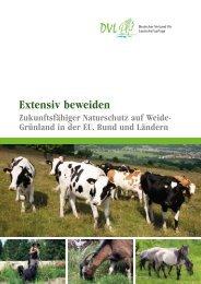 Extensiv beweiden - Deutscher Verband für Landschaftspflege eV