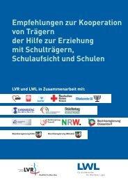 Empfehlungen zur Kooperation von Trägern der Hilfe zur Erziehung ...