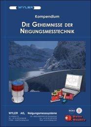 DIE GEHEIMNISSE DER NEIGUNGSMESSTECHNIK - Wyler AG.