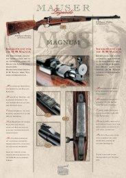 die m 98 magnum the m 98 magnum - Mauser