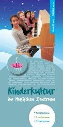 Programm Musisches Zentrum Winter 2013-2014