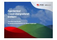 Trend Micro Deep Security - interface:systems