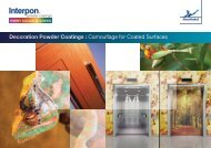 Decoration Powder Coatings : Camouflage for Coated ... - Interpon