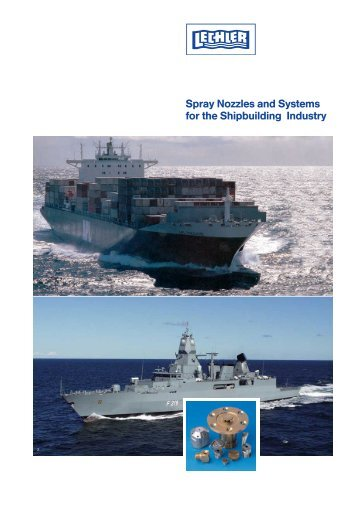 Spray Nozzles and Systems for the Shipbuilding ... - Interempresas
